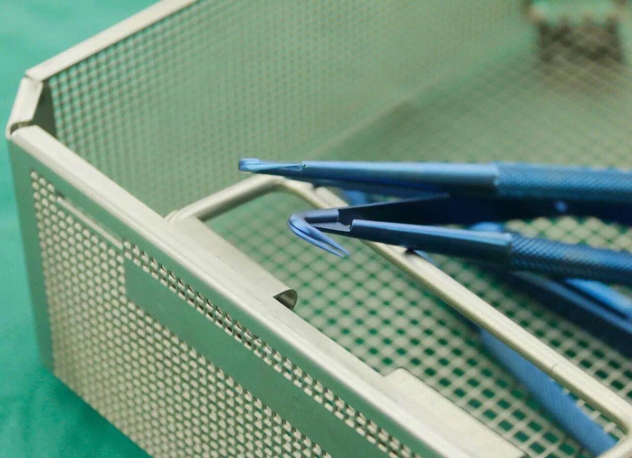 钛合金显微止血钳 显微血管钳 显微手术器械