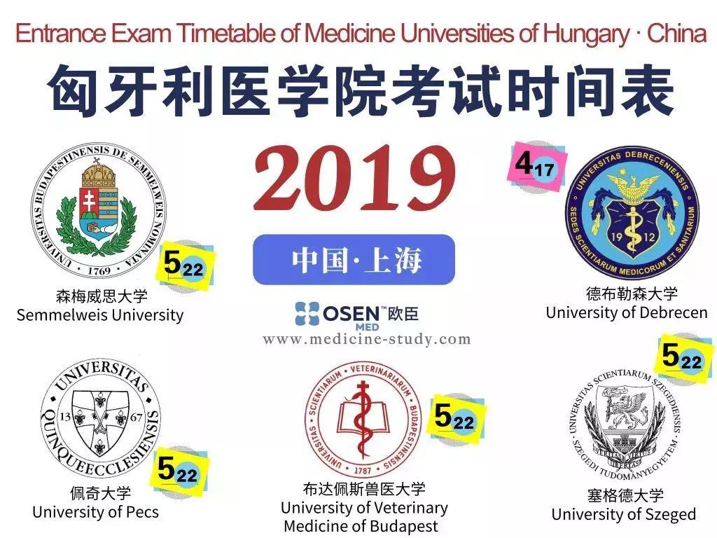 如何报名匈牙利医学院入学考试