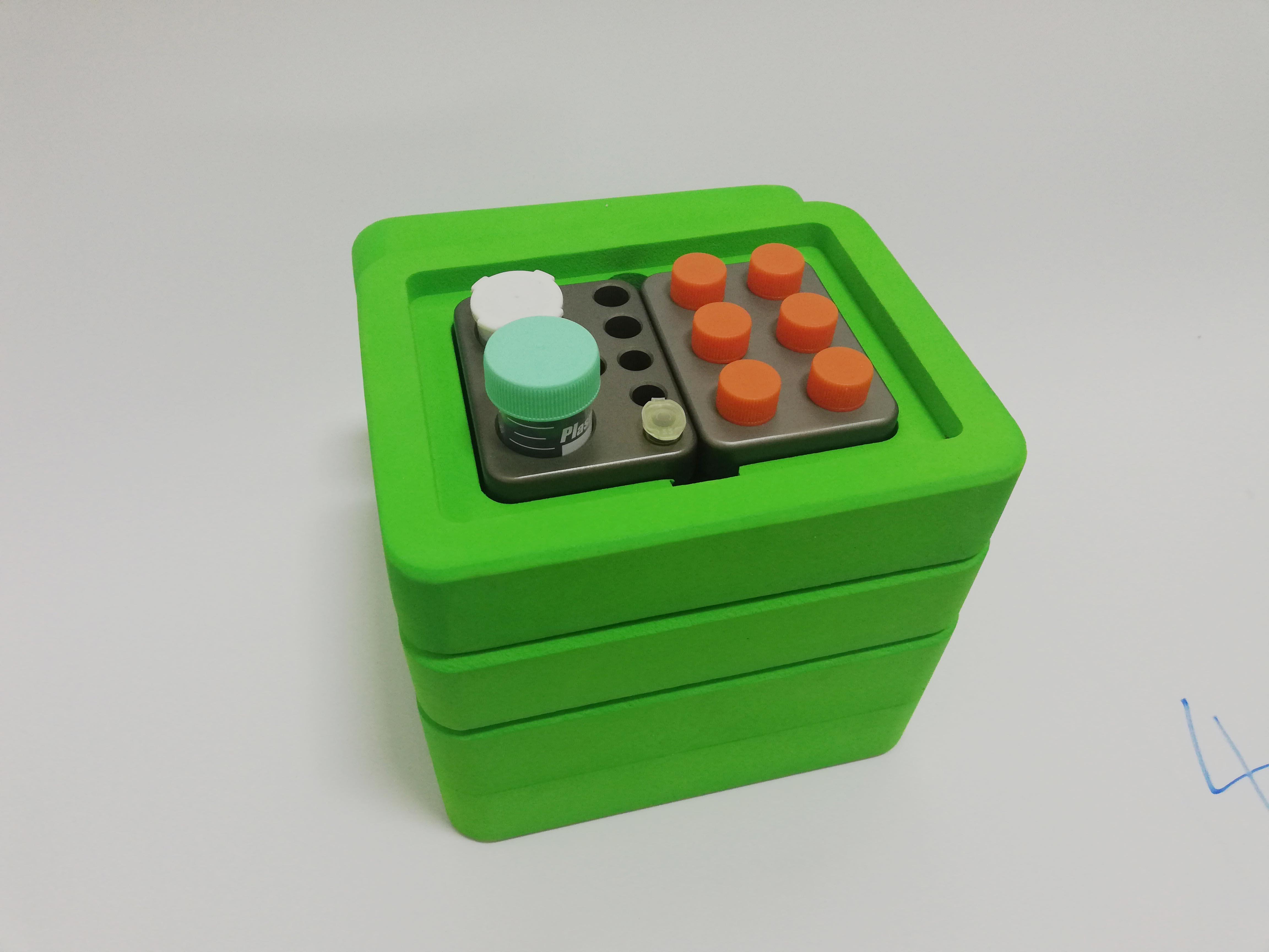 微生物样品采样箱转运运输箱低温转运无冰无电便携