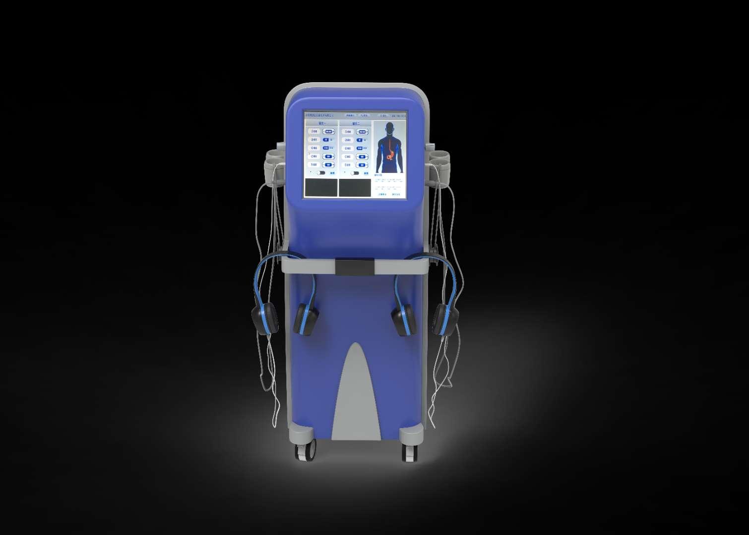 兢仁医疗胃肠动力治疗仪数码多功能治疗仪采用音频电技术