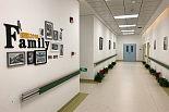 门诊科室走廊