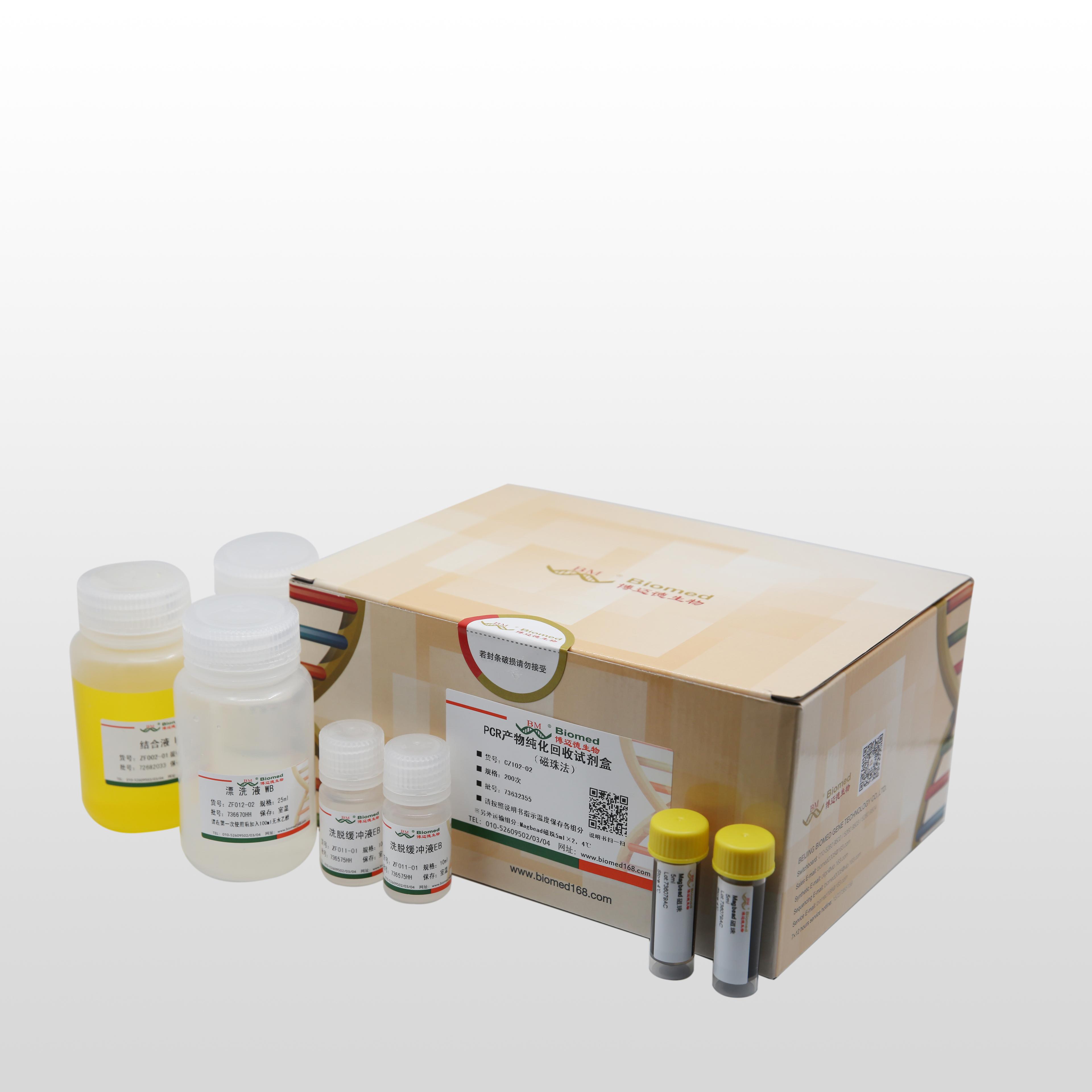 质粒小量快速提取试剂盒 ( 磁珠法)