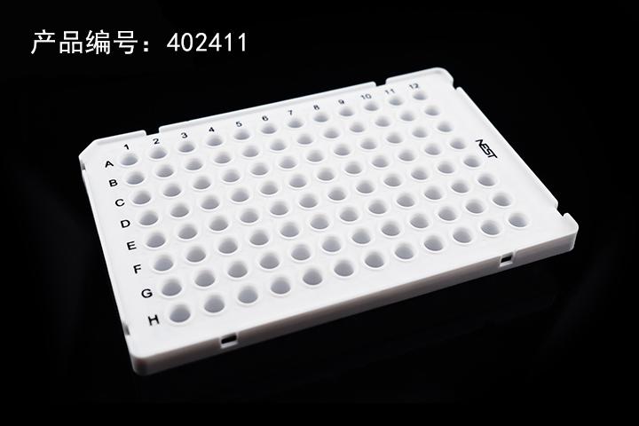 0.1mLPCR 96孔板,白色(402411)