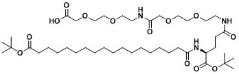 索玛鲁肽侧链;tBuO-Ste-Glu(AEEA-AEEA-OH)-OtBu