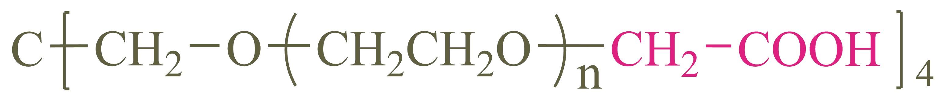 四臂聚乙二醇羧酸(4-arm PEG-CM);4-arm Poly(ethylene glycol) carboxylic acid