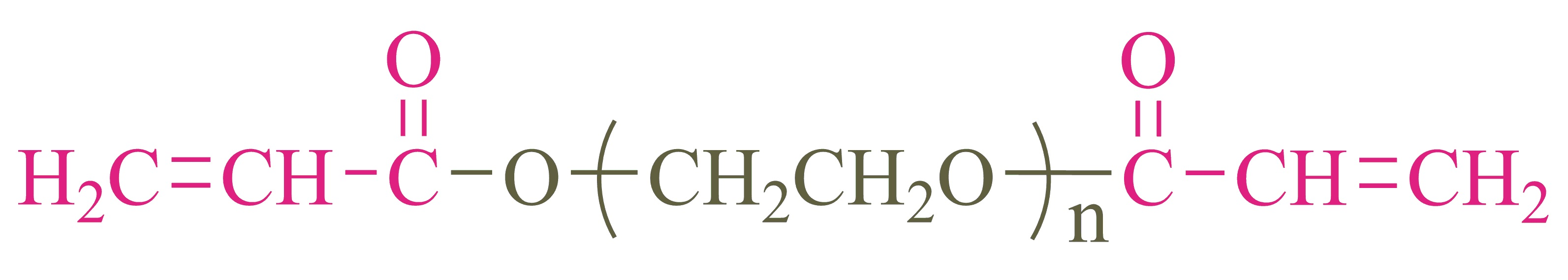 α,ω-二丙烯酸酯基聚乙二醇(AA-PEG-AA);α,ω-Diacryloyl poly(ethylene glycol)