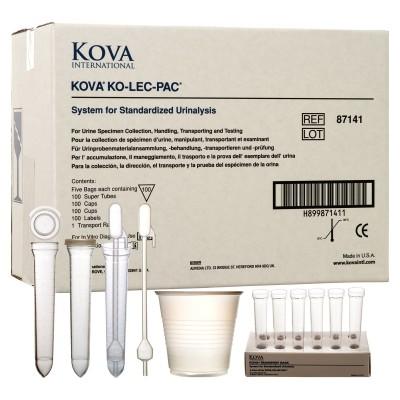 KOVA® KO-LEC-PAC 87161  87161E 尿检分析耗材套装