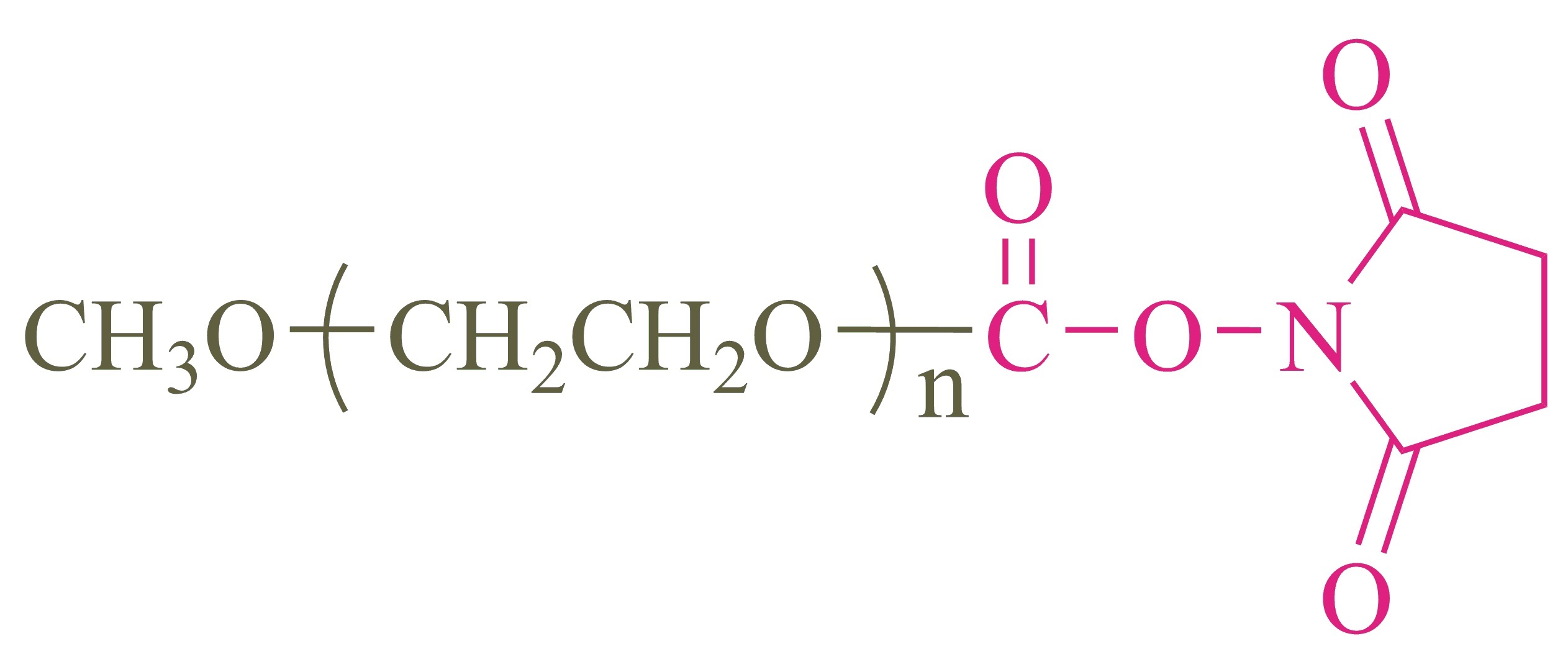 甲氧基聚乙二醇琥珀酰亚胺碳酸酯;Methoxypoly(ethylene glycol) succinimidyl carbonate;(mPEG-SC)