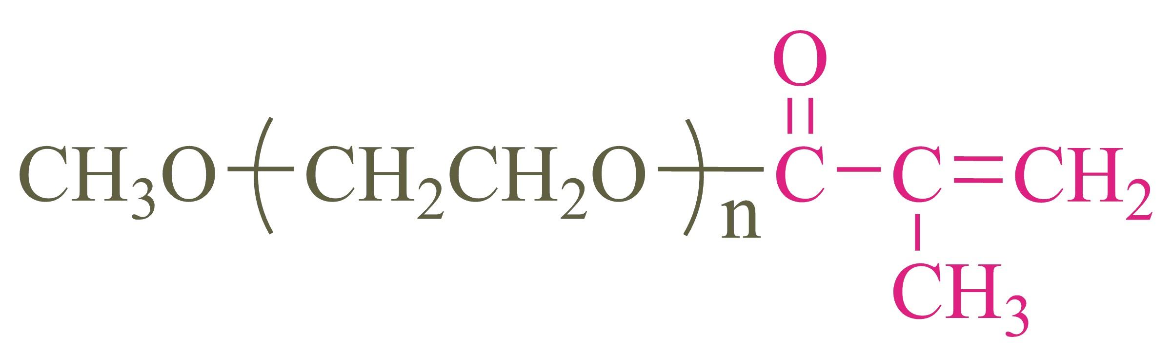 甲氧基聚乙二醇甲基丙烯酸酯;Methoxypoly(ethylene glycol) methacrylate;(mPEG-MA)