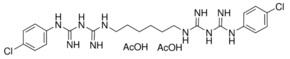 醋酸氯己定56-95-1