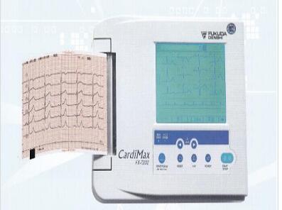 日本福田 多道自动分析心电图机 FX-7202