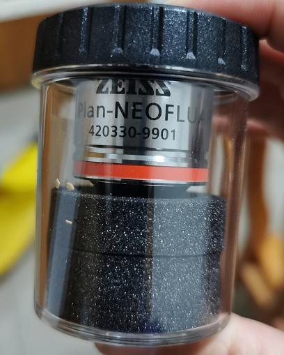 高性能显微镜萤石物镜