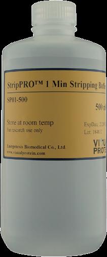 StripPRO 一分钟蛋白印迹膜再生液/抗体剥离液-Visual Protein
