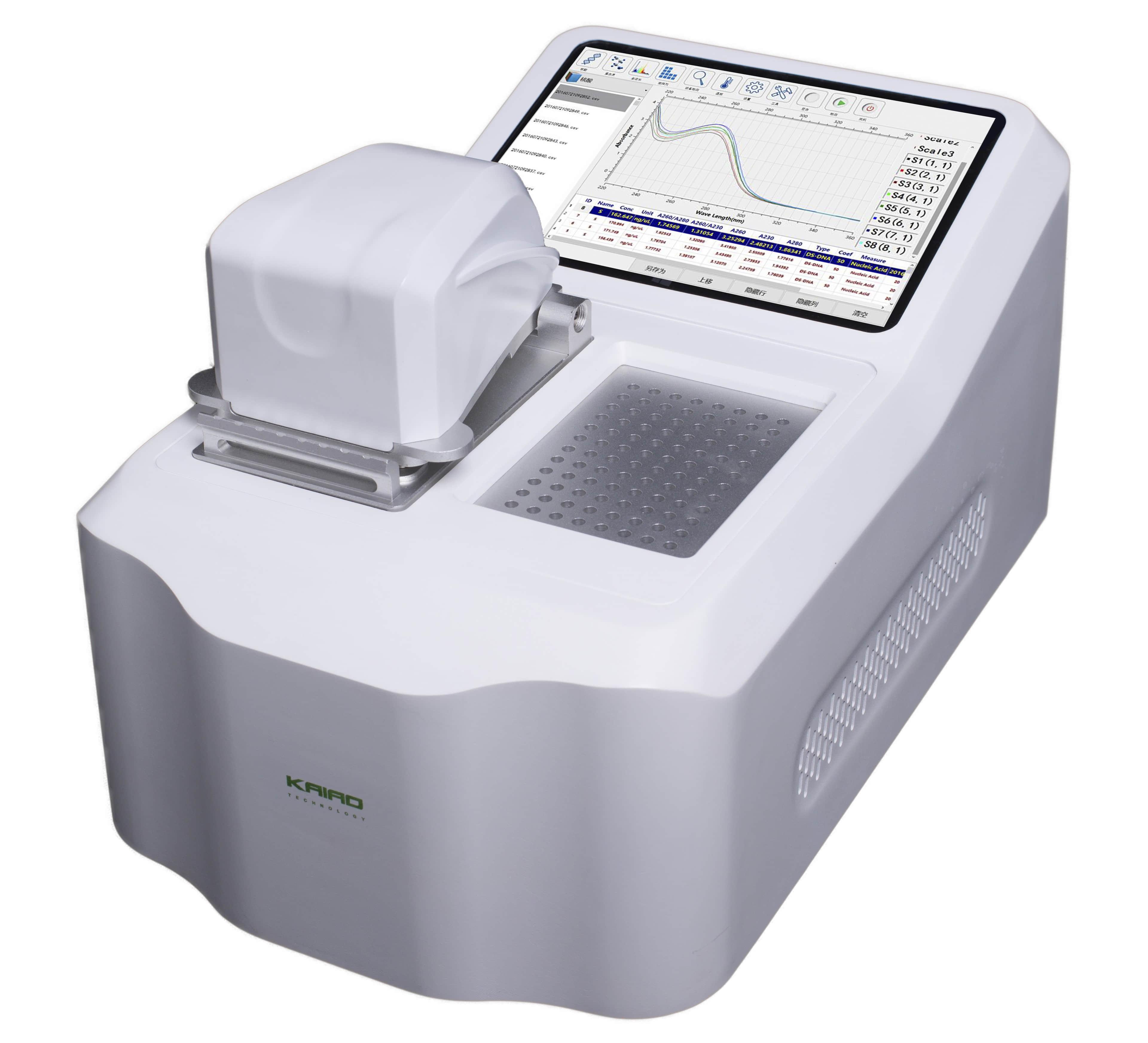 凯奥K8000 八通道超微量分光光度计