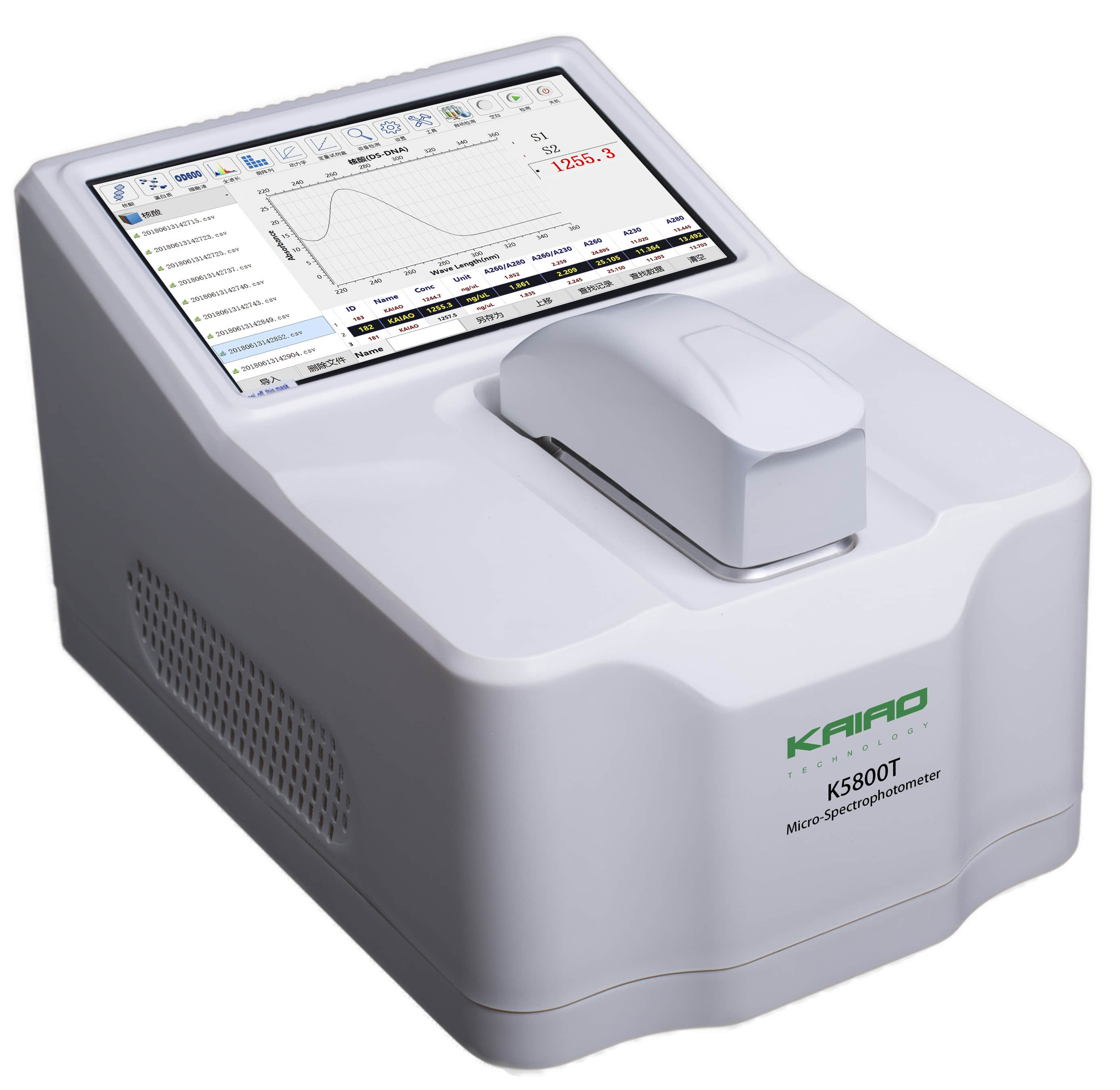 凯奥K5800T自动检测超微量分光光度计