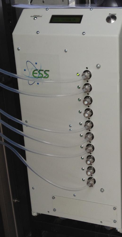 ESS GasTrace气体纯度、气体混合物、食品级监测系统