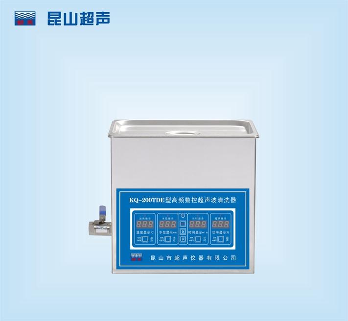 昆山超聲儀器舒美牌KQ-200TDE型超聲波清洗機
