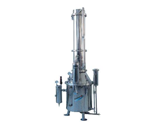 上海三申TZ50 TZ100 TZ200不锈钢塔式蒸汽重蒸馏水器