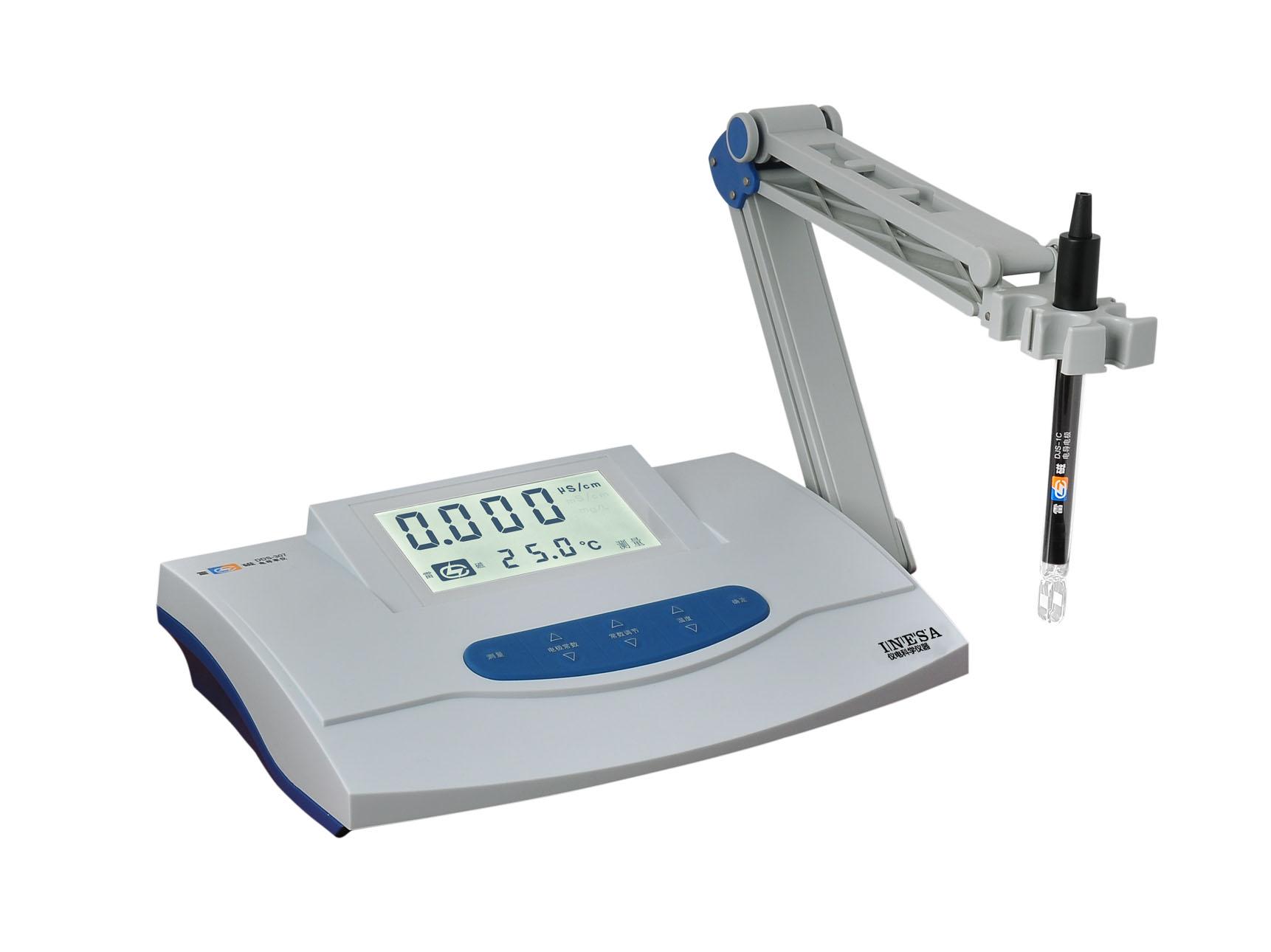 上海雷磁DDS-307电导率仪