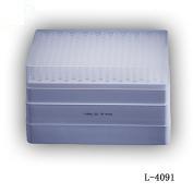 1-200ul, 0.57mm 凝胶加样吸嘴, 无色, 盒装灭菌