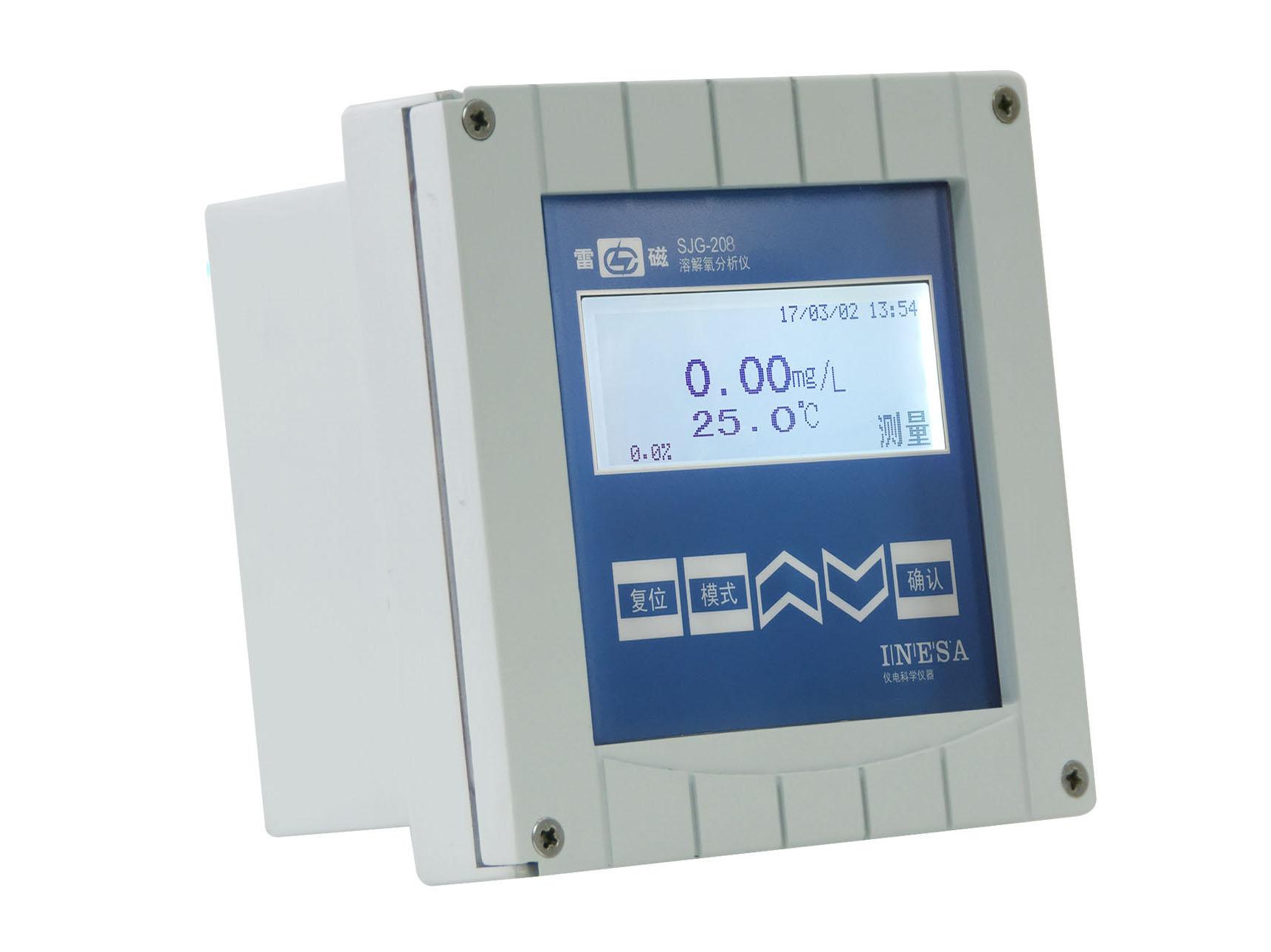 上海雷磁SJG-208污水溶解氧监测仪