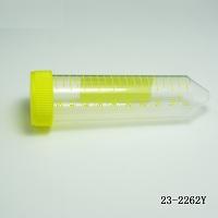 50ml 离心管,PP(聚丙烯), 锥底, 黄色盖,支架