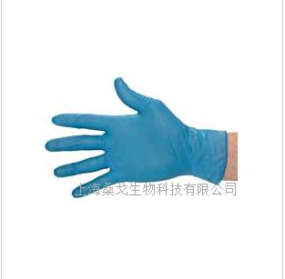 高灵敏度蓝色腈手套