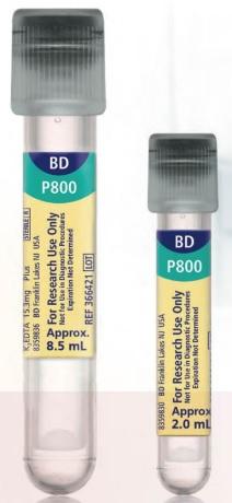 科研用BD Vacutainer P800血浆蛋白保存系统366421