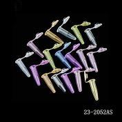1.70ml 微量离心管,无DNA酶/RNA酶无热源,  五色混装(红黄橙蓝紫)