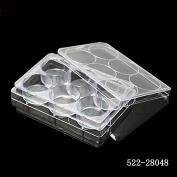 6孔帶蓋細胞培養板,懸浮,平底, 透明,獨立滅菌包裝