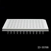 100μl 96孔半裙边 PCR 板,白色,非灭菌