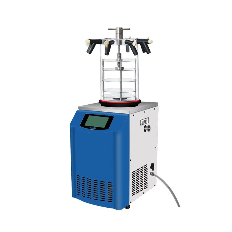 上海沪析 HX-12-50DG 立式压盖多歧管冷冻干燥机
