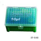 Tip 0.5-10ul进口加长吸嘴,无色, 盒装灭菌