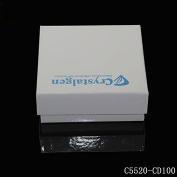 打蜡纸冻存盒 (长x宽x高) 134x134x50.8mm, 10 x 10分格,无孔(for 2ml Tube)