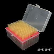 Tip 1-200ul,  BASIX 短吸嘴 ,黄色, 盒装灭菌