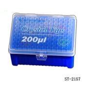 Tip 1-200ul进口加长吸嘴,无色, 盒装灭菌
