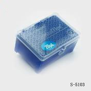 Tip 0.5-20ul进口加长吸嘴,无色, 带滤芯, 盒装灭菌