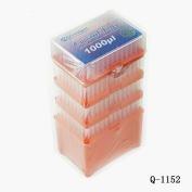 Tips100-1300ul进口加长吸嘴,无色, 灭菌, 替换板盒装,无DNA酶无RNA酶无热源