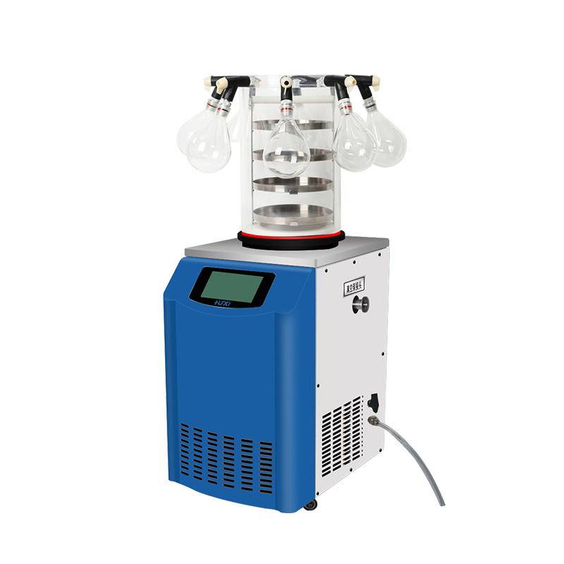 上海沪析 HX-12-50D 立式多歧管冷冻干燥机