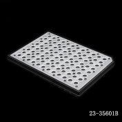 200μl 96孔半裙边 PCR 板,黑色,非灭菌