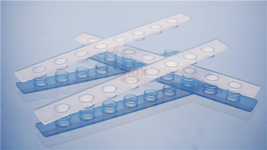 0.1 ml PCR八联管配荧光定量PCR八联管光学平盖
