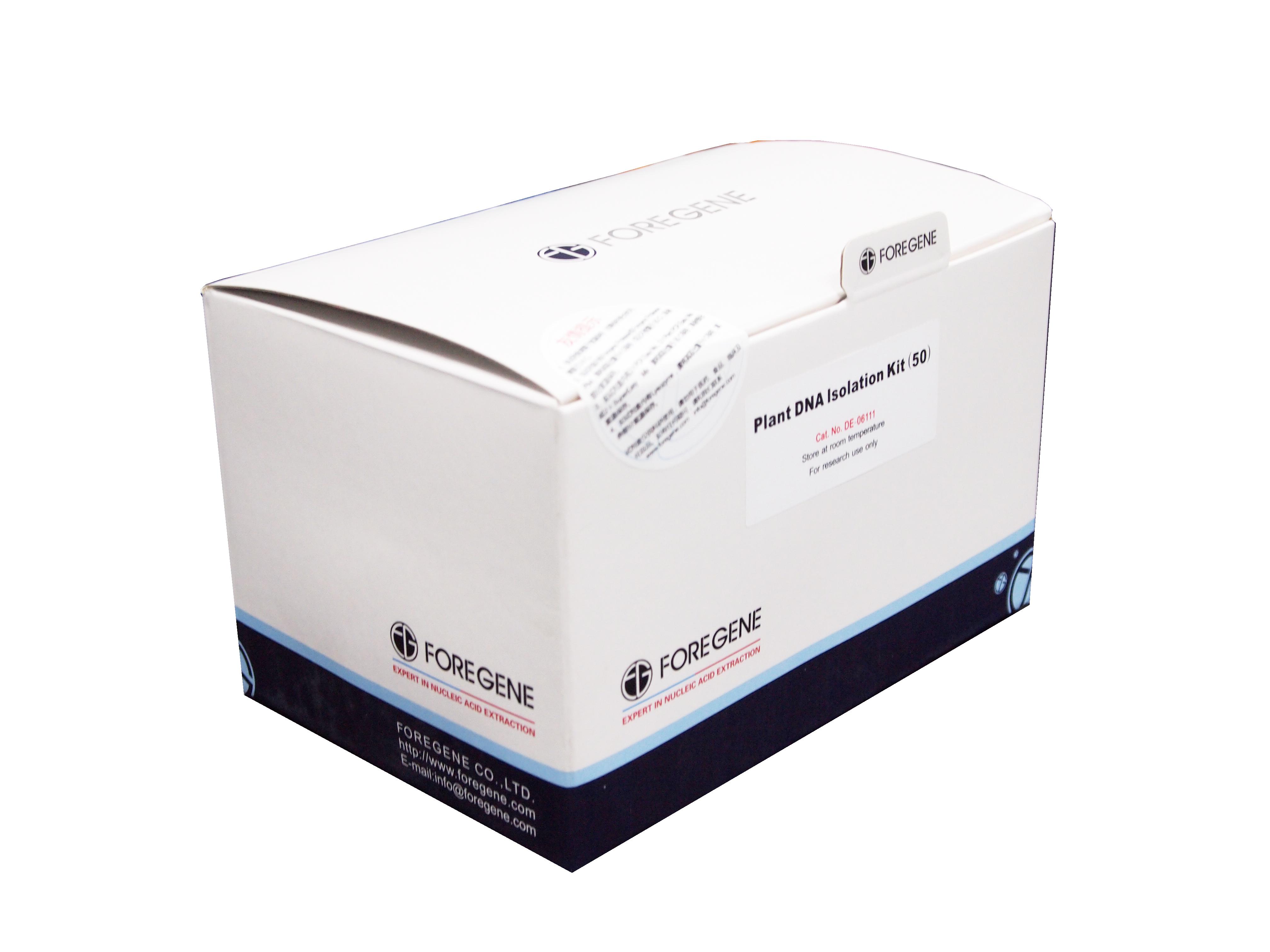 植物基因组DNA提取试剂盒Plant DNA Isolation Kit