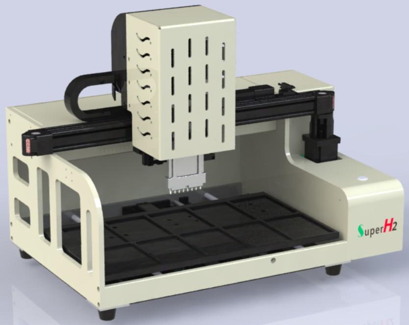 8道移液机器人能做引物合成实验样品制备移液工作站