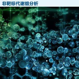 非靶标代谢组学分析