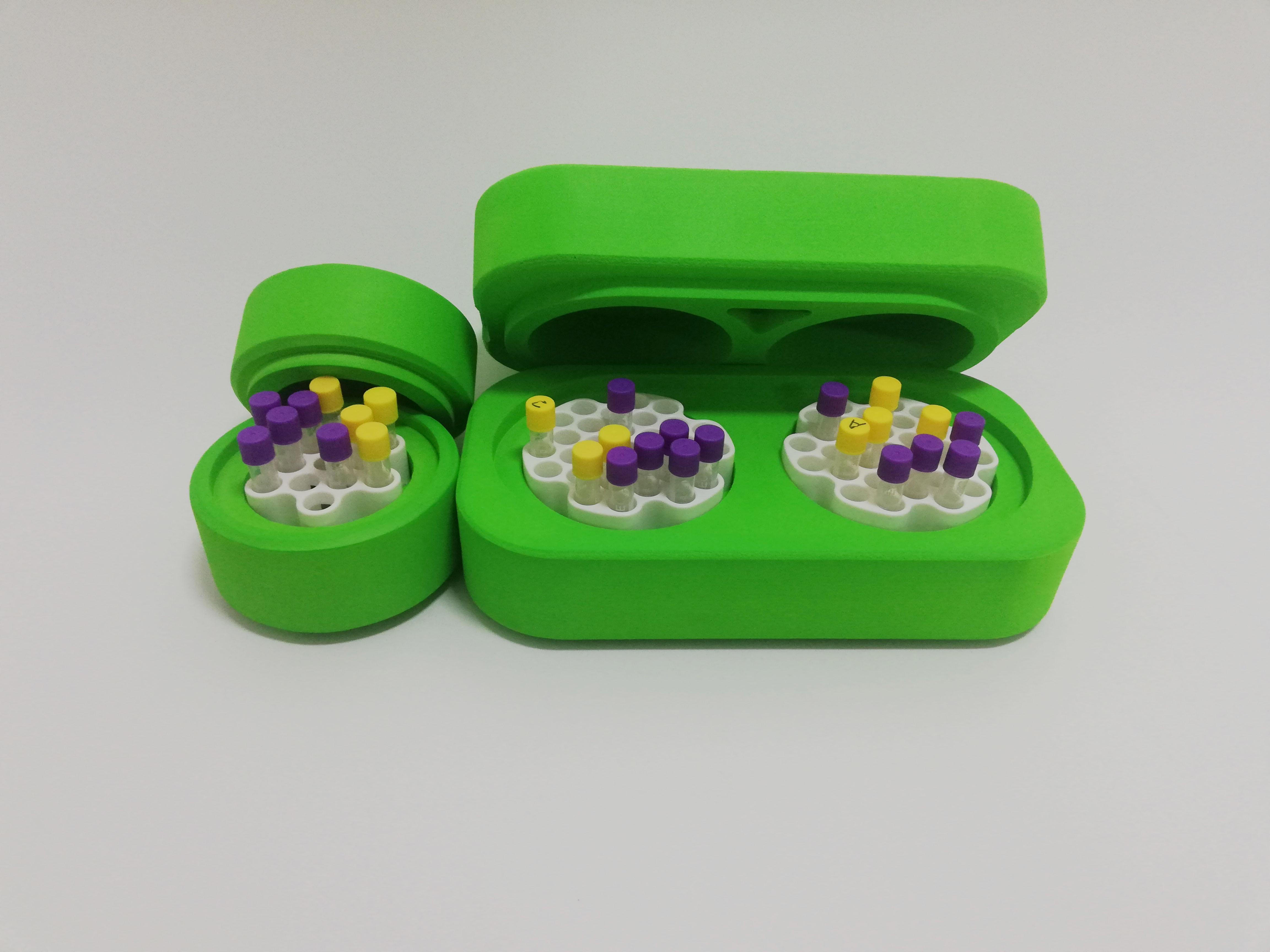 可重复用细胞冻存管盒程序降温盒cellhome-60