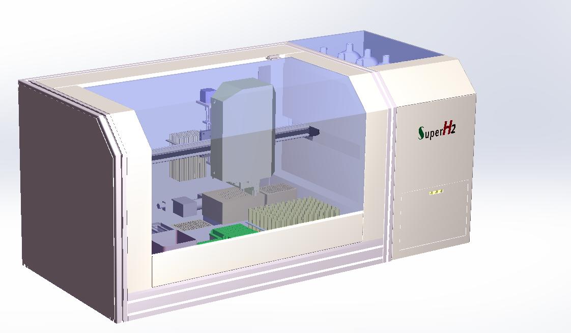 1+8震荡氮吹组合液面探测、高度探测、加热、制冷、震荡、视觉识别等模块