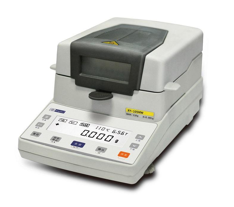 常州幸运XY105MW XY102MW XY-MW系列卤素水分测定仪