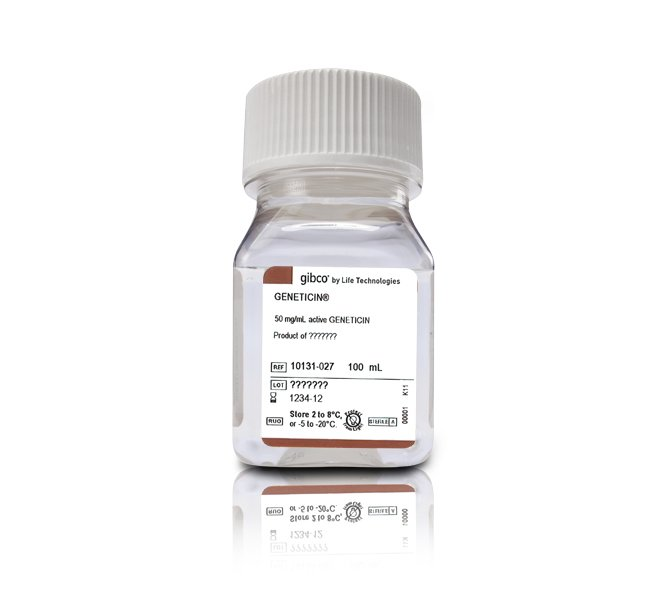 Geneticin™ Selective Antibiotic (G418 Sulfate) (50 mg/mL)