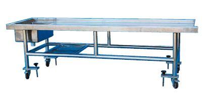 布兰特_移动式不锈钢解剖床