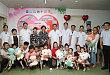 河北省妇联副主席张继华看望先心病儿童